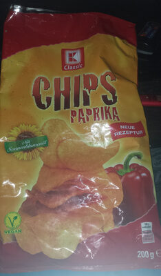 K-Classic Chips Paprika - Product