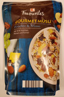 Gourmet Müsli Früchte & Nüsse - Product - de