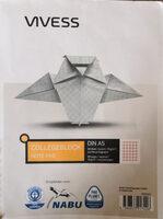 Collegeblock, DIN A5, 80 Seiten - Product - de