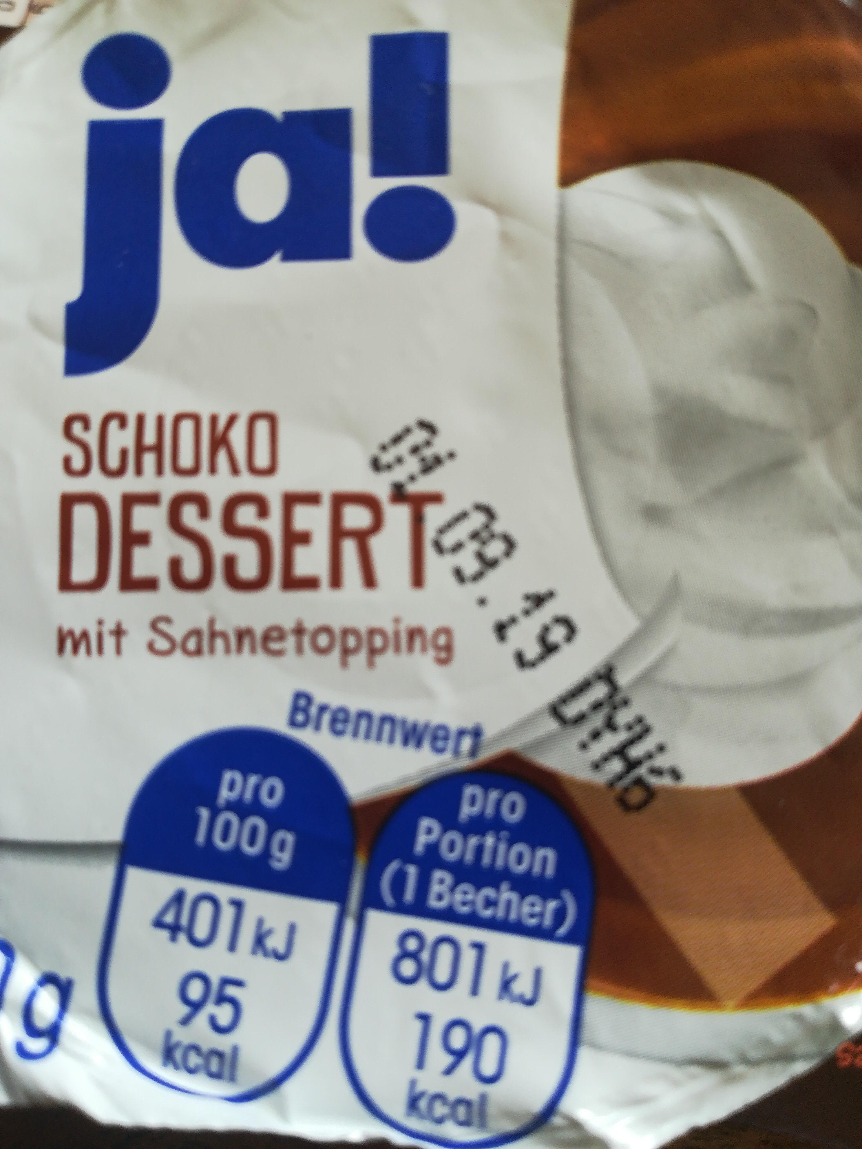 schoko dessert - Product - de