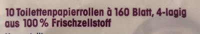 ja! Super-Soft Toilettenpapier - Ingredients - de