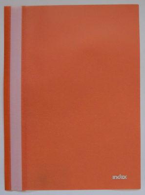 Папка-скоросшиватель, оранжевая, ф. А4 3 - Product