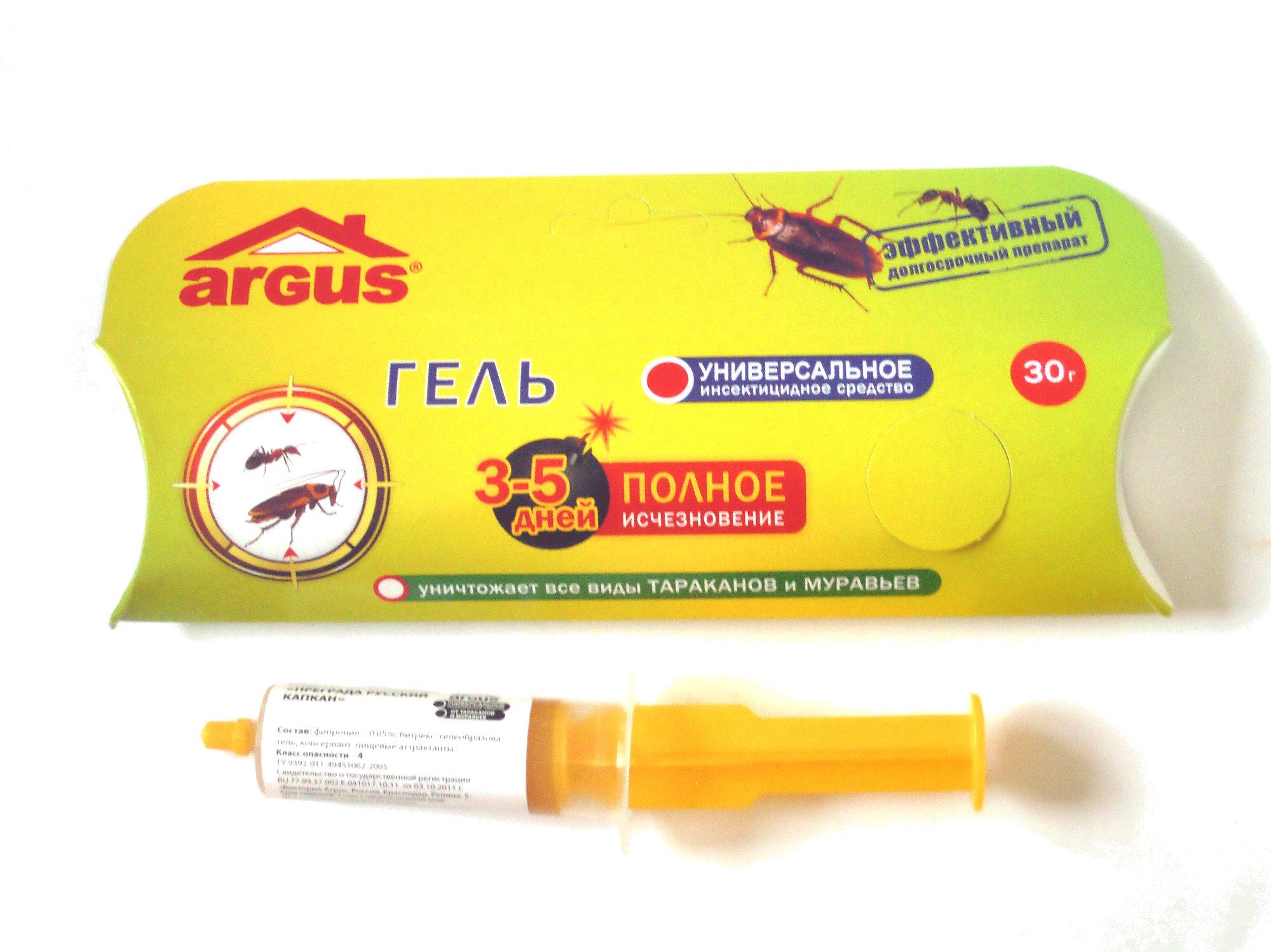 Гель (уничтожает все виды тараканов и муравьев) - Product - ru