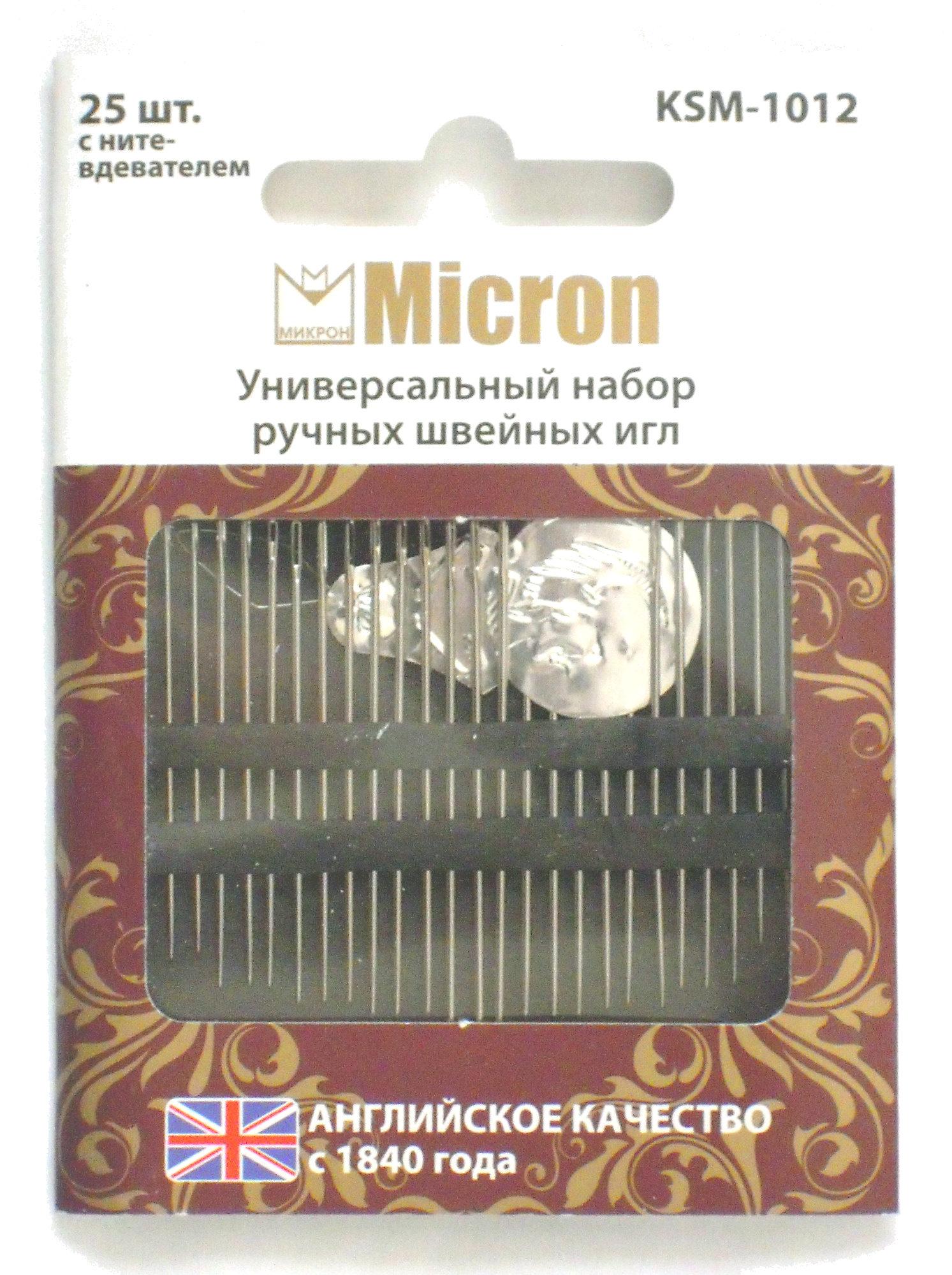 Универсальный набор ручных швейных игл [KSM-1012] - Product