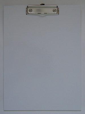 Клип-борд ламинированный, белый - Product
