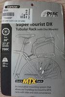 Super Tourist DX Tubular Rack (with Disc Mounts) - Product - fr