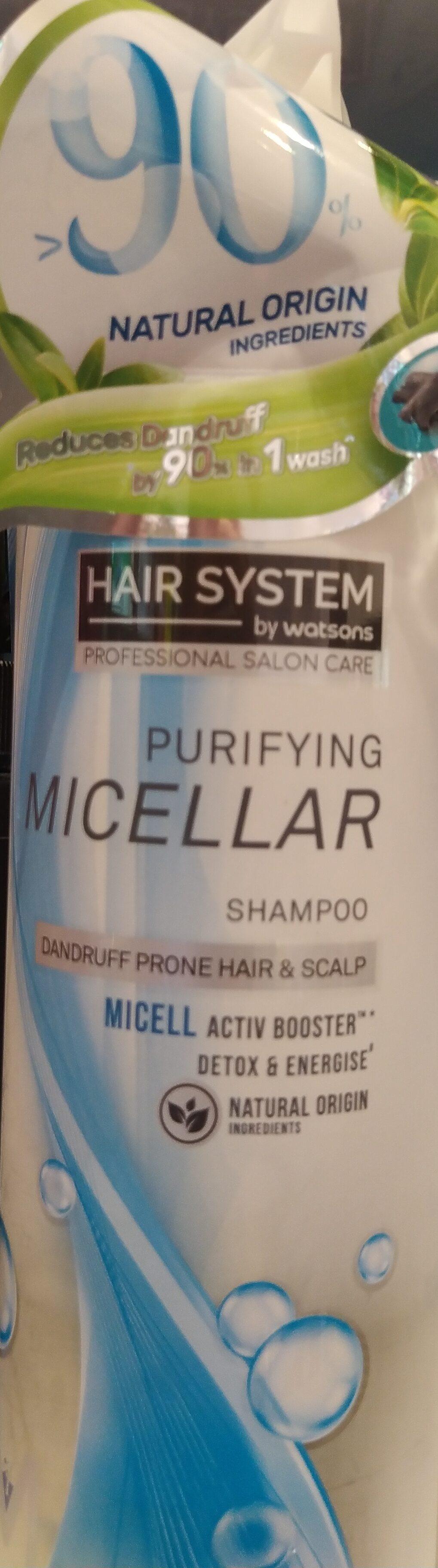 Micellar Botanical Purifying Shampoo - Product - en