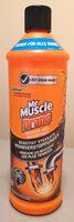 SC Johnson Mr Muscle Drano Power-Gel - Product - de