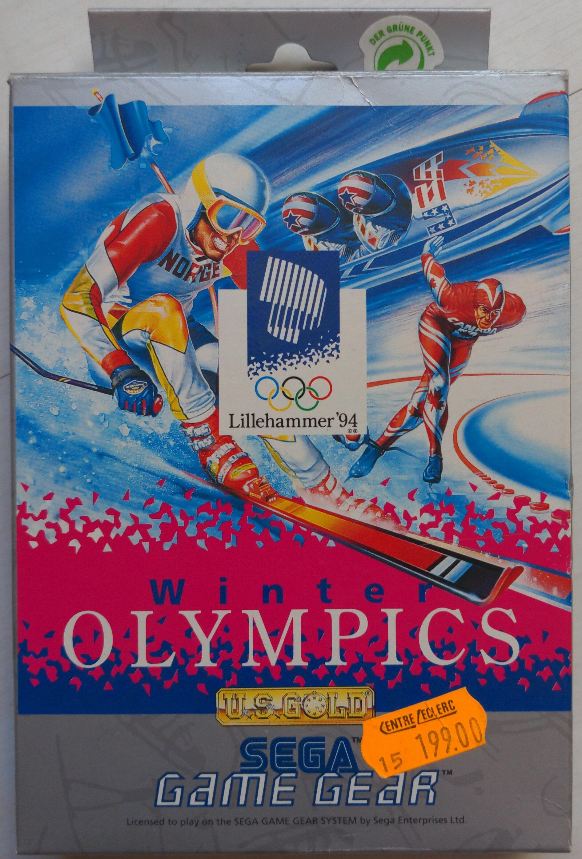 Lillehammer'94 Winter Olympics - Produit - en