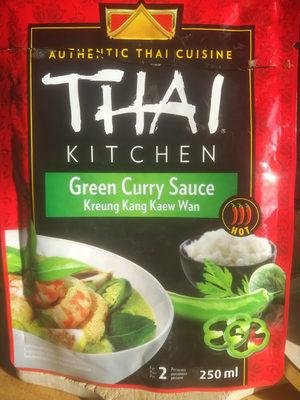 green curry sauce - Produit - fr