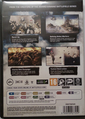 Battlefield Bad Company 2 - Ingredients