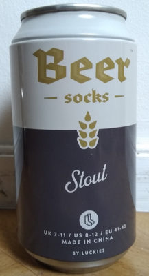 Beer socks Stout - Produit