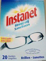 lingettes pour lunettes - Product