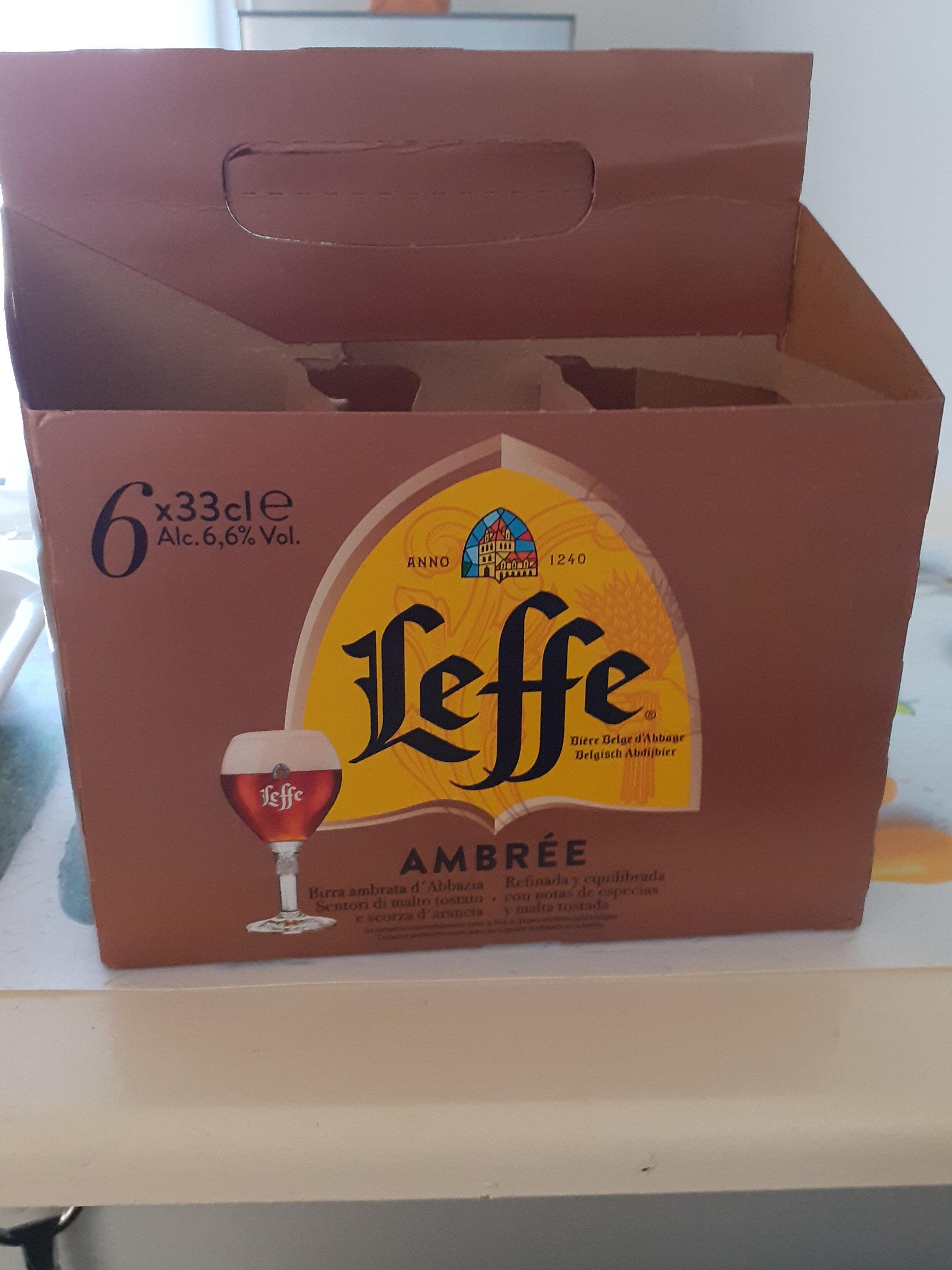 LEFFE Bière ambrée - Product - fr