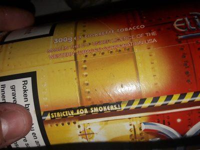 Pot de Tabac - Ingredients