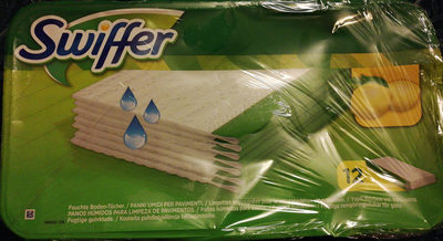 swiffer lingettes imprégnées pour le sol citron - Product