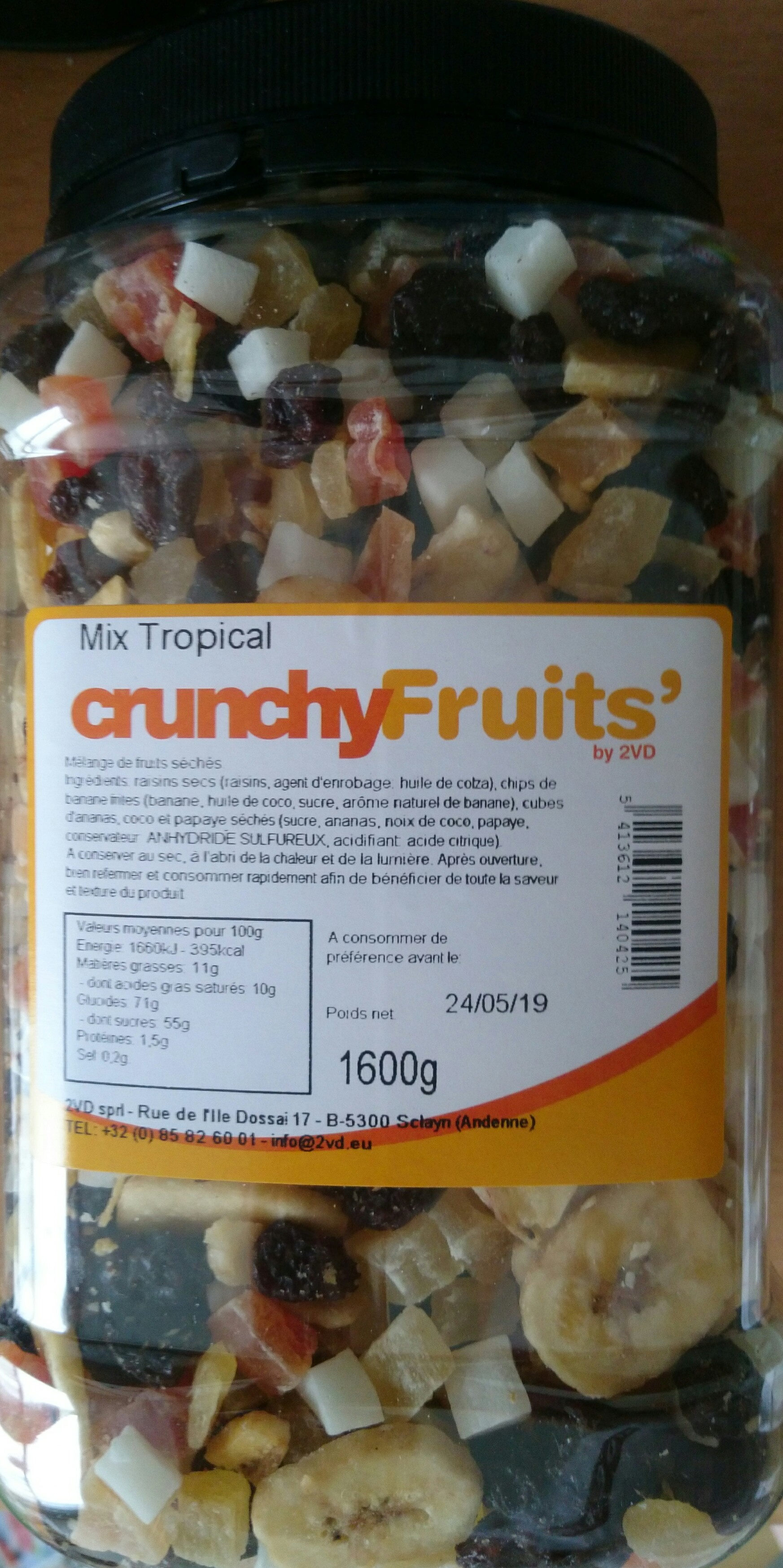 mix tropical - Product - fr