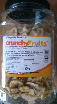 chips de banane - Product - fr
