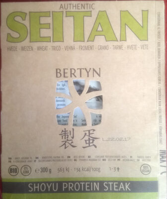SEITAN SHOYU PROTEIN STEAK - Product