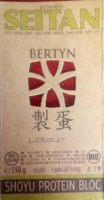 SEITAN SHOYU PROTEIN BLOC - Product - fr