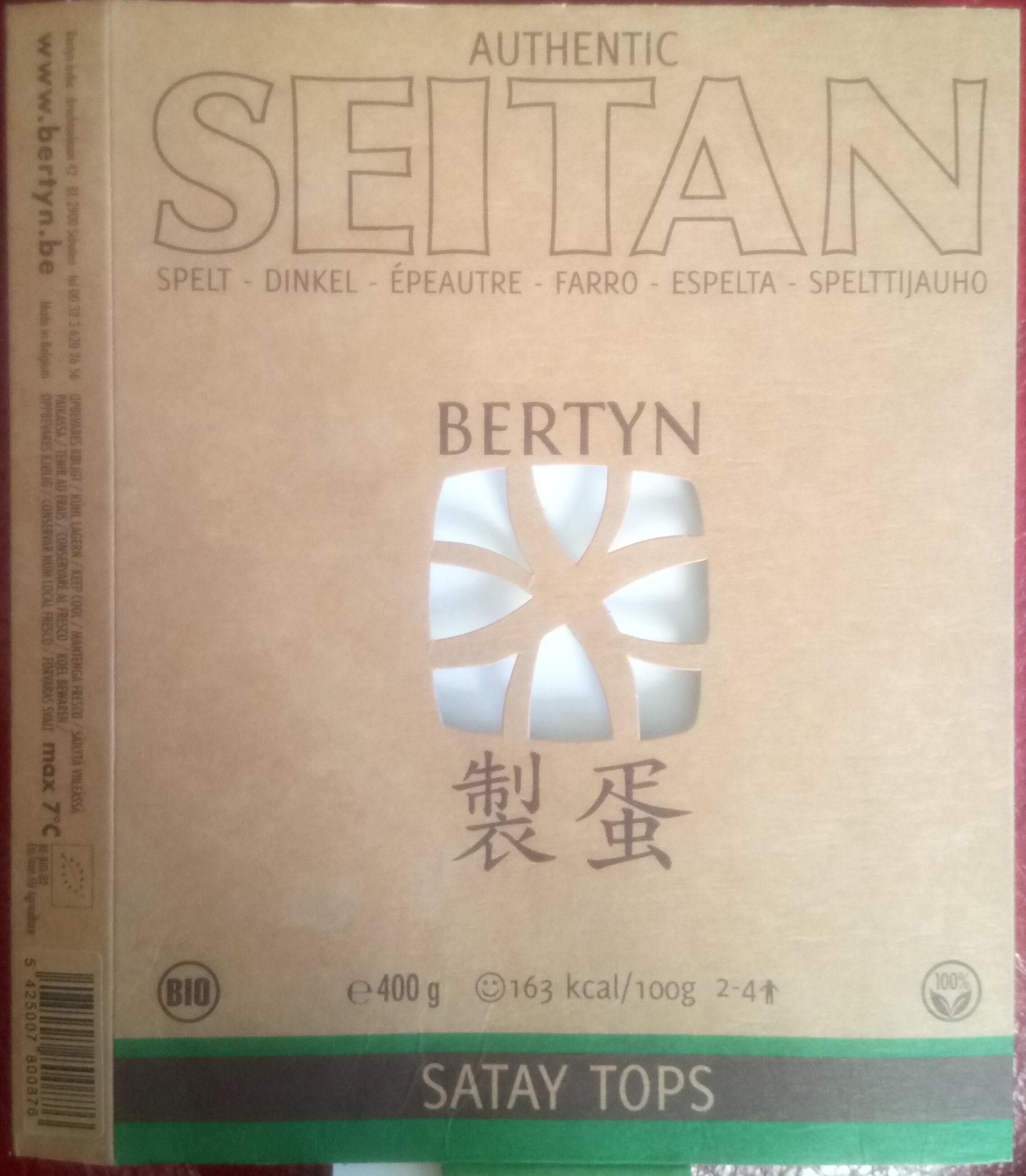 SEITAN SATAY TOPS - Product - fr