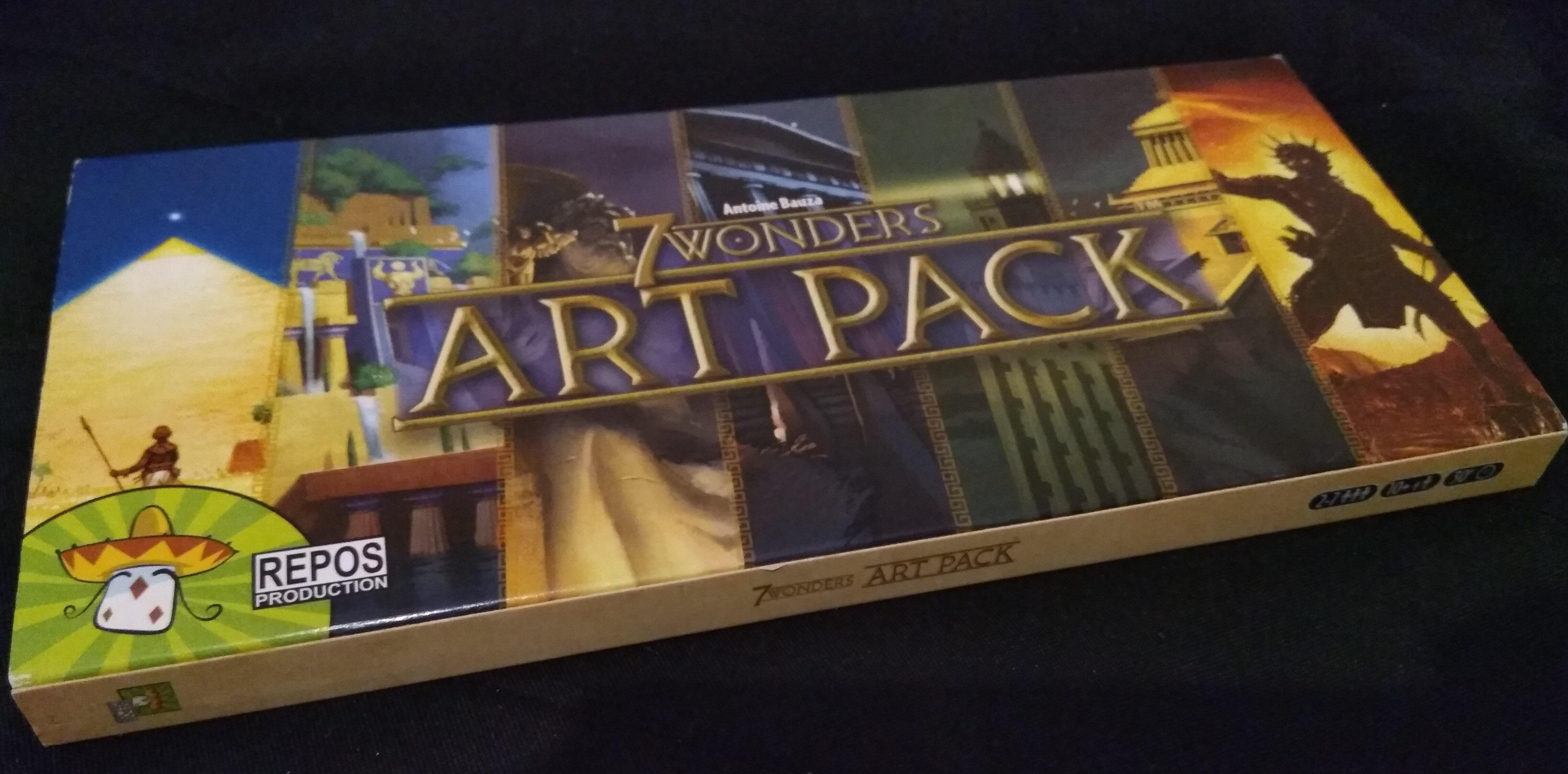 7 Wonders Art Pack - Product - fr