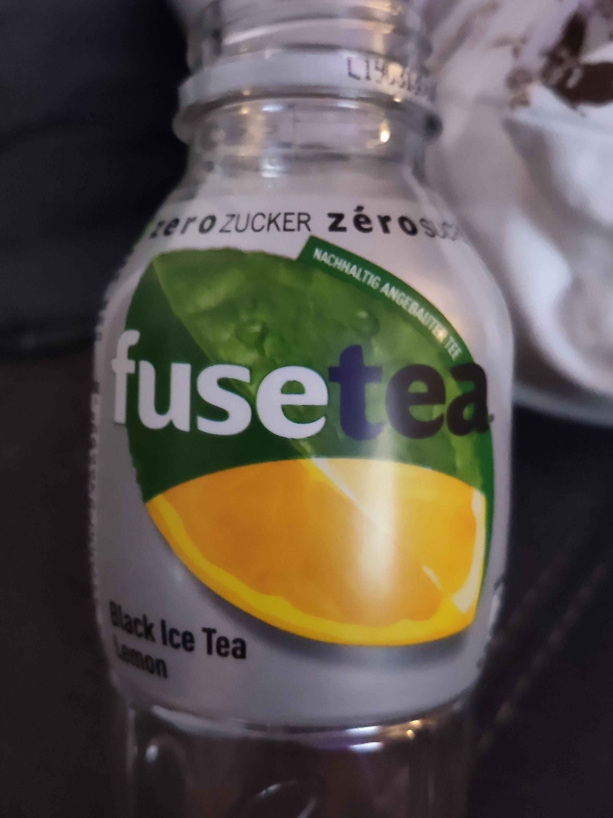 Fuse Tea Zero Citron - Product - fr