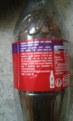 Coca-Cola cherry - Ingredients - fr