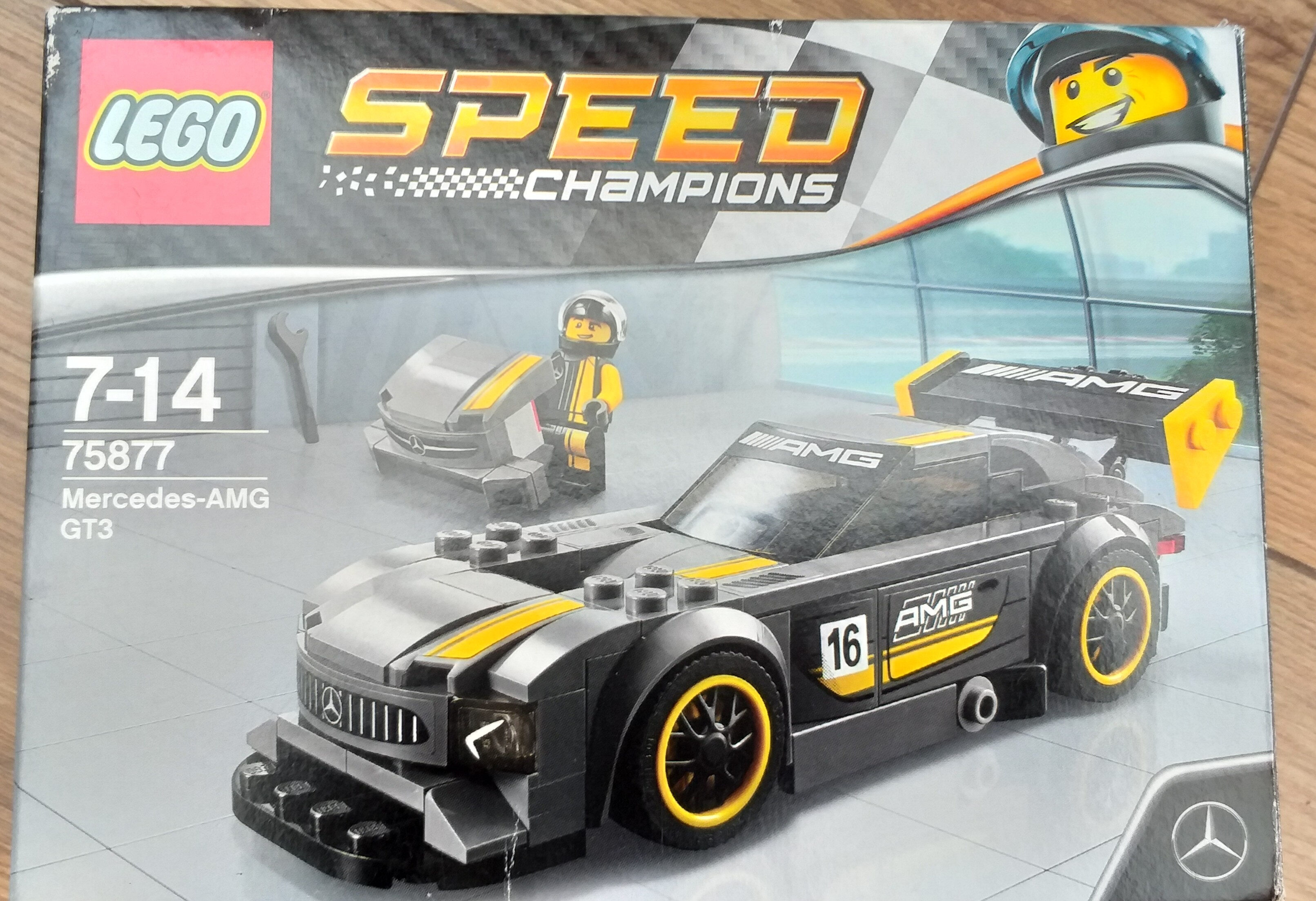 75877 - Mercedes amg gt3 (Speed Champion) - Product - fr