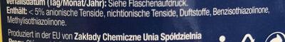 Shine Badreiniger Zitrone - Ingredients - de