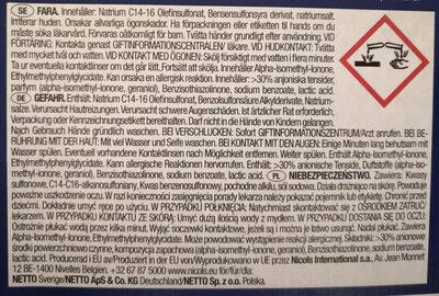 WC Rim Blocks, Lemon - Ingredients - de