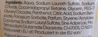 Hand Soap Milk & Honey - Ingredients - de