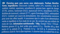 V6 dental - Ingredients - en