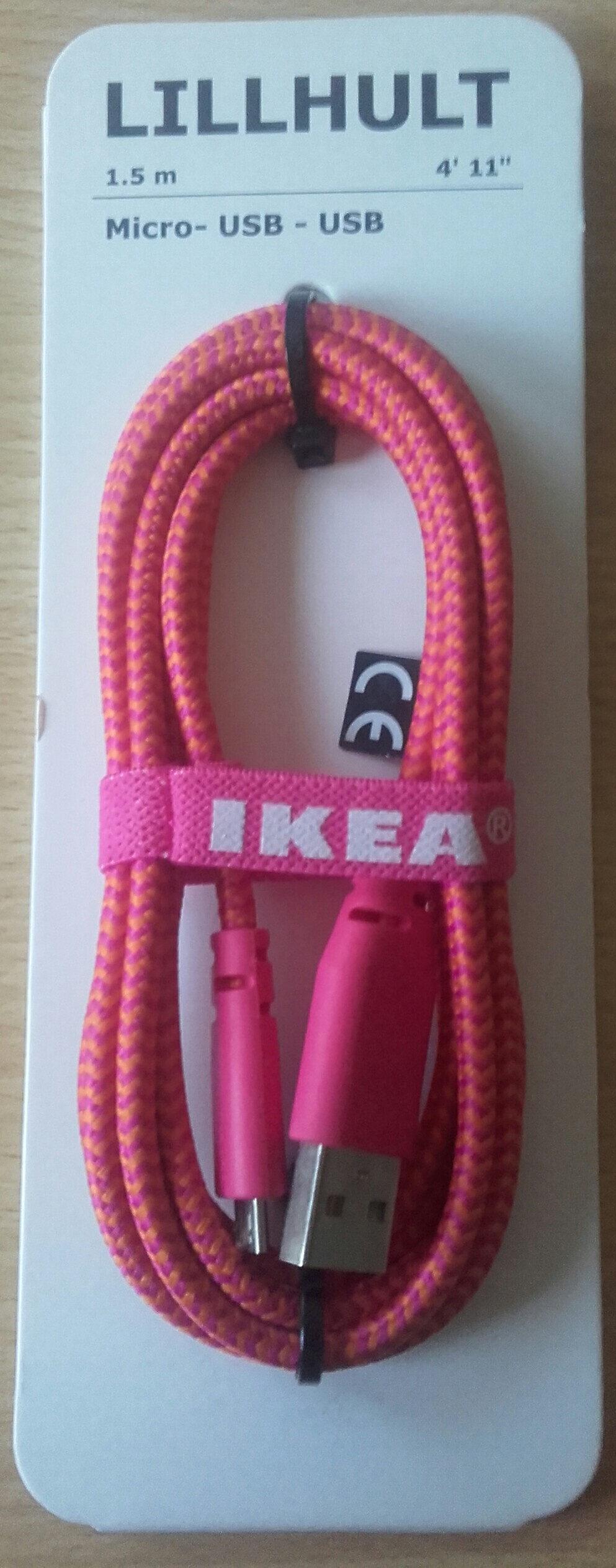 Cable Micro USB - USB - Produit - fr