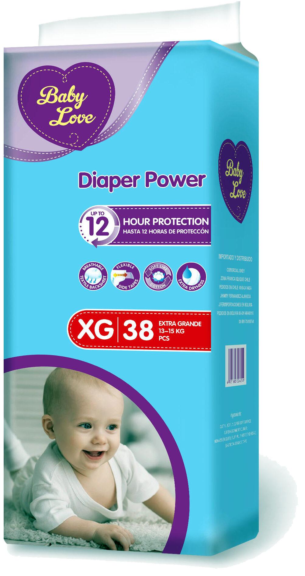 Pañales desechables XG - Product - es