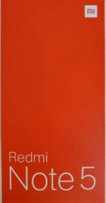 Xiaomi Redmi Note 5 - Produit