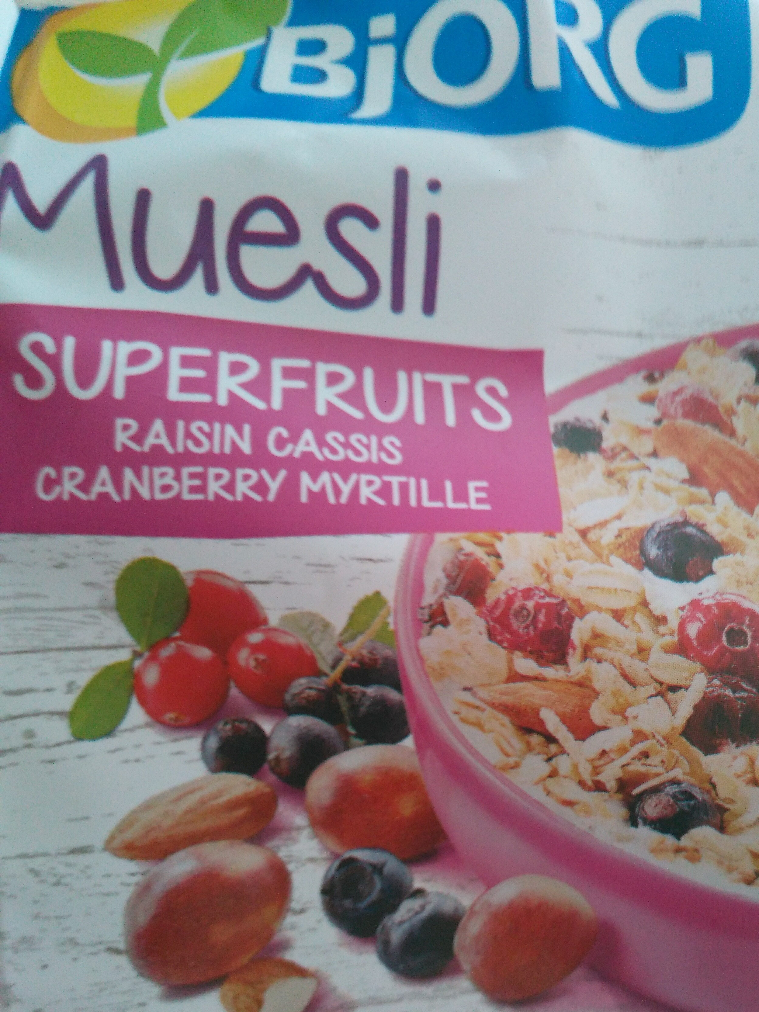 Muesli SuperFruits - Product