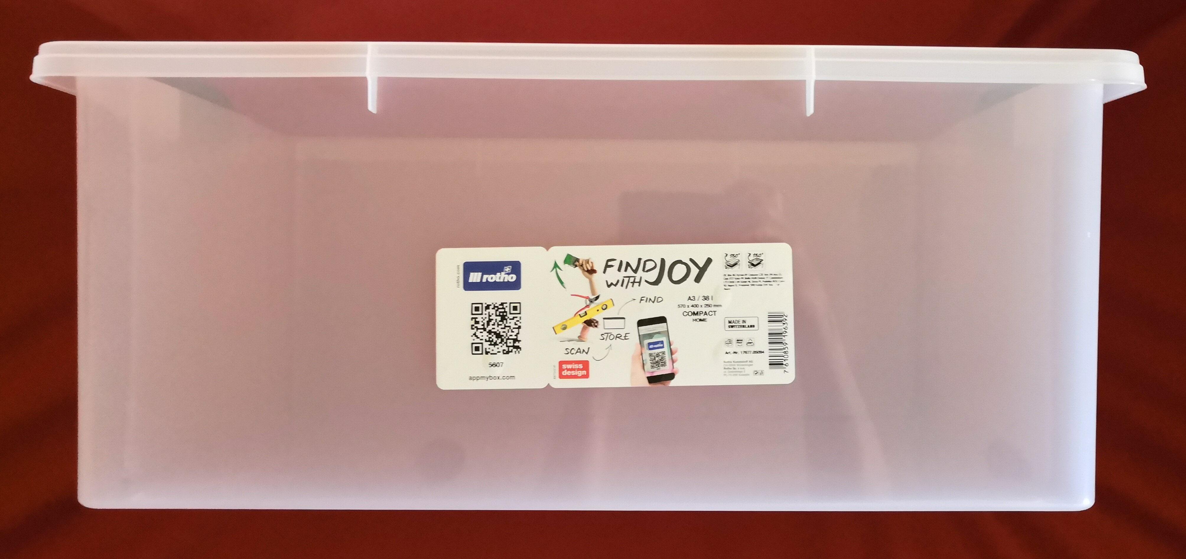 Rotho Compact Stapelbox A3/38l - Product - de