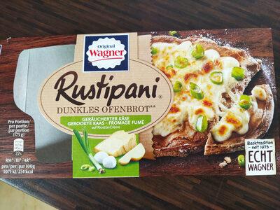 Rustipani, Dunkles Ofenbrot, Geräucherter Käse - Product - de