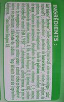 poudre lait infantile 2 - Ingredients