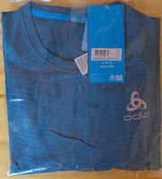Haut BL col ras du cou manches courtes ZEROWEIGHT X-LIGHT - blue coral - Produit - fr