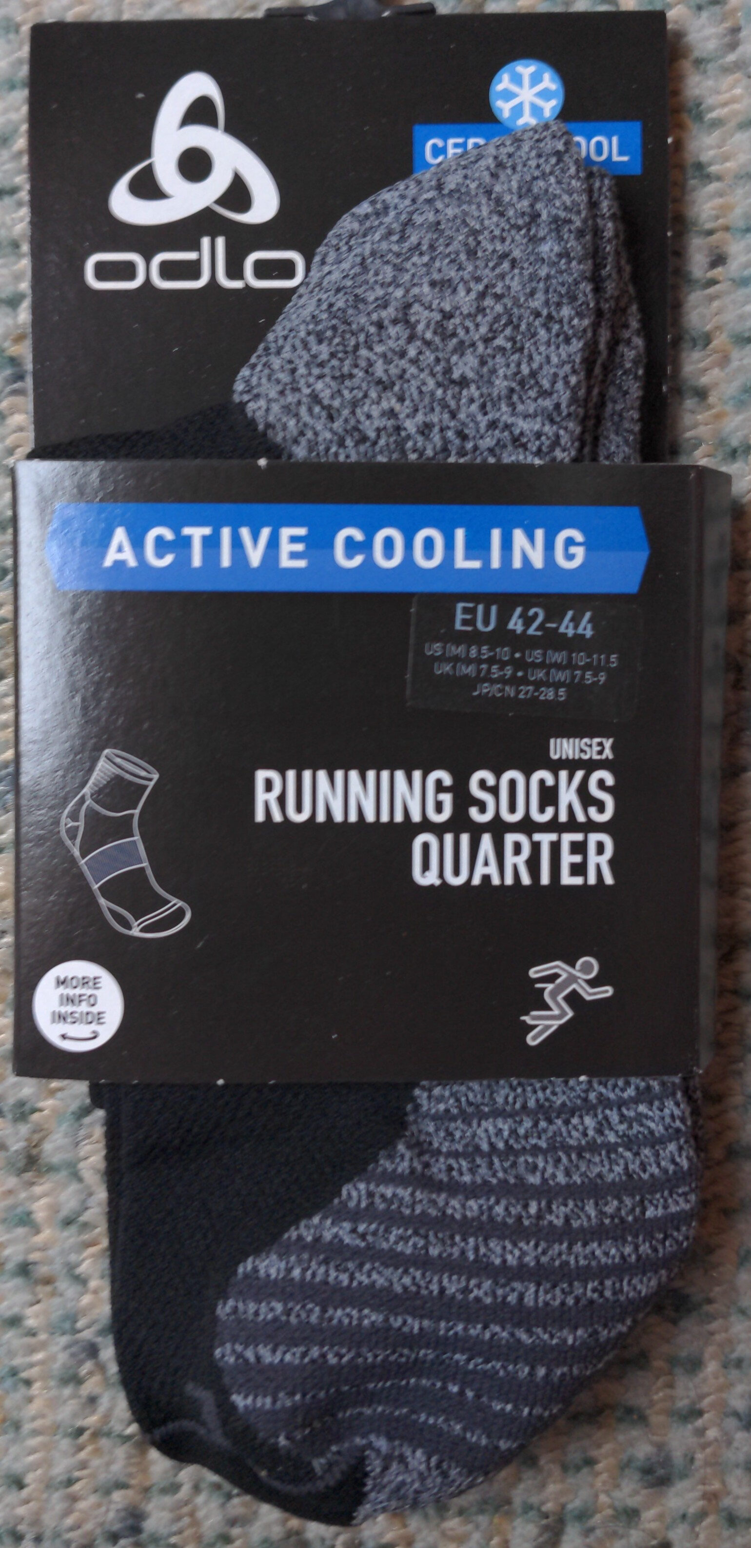 Running socks quarter - Produit - en