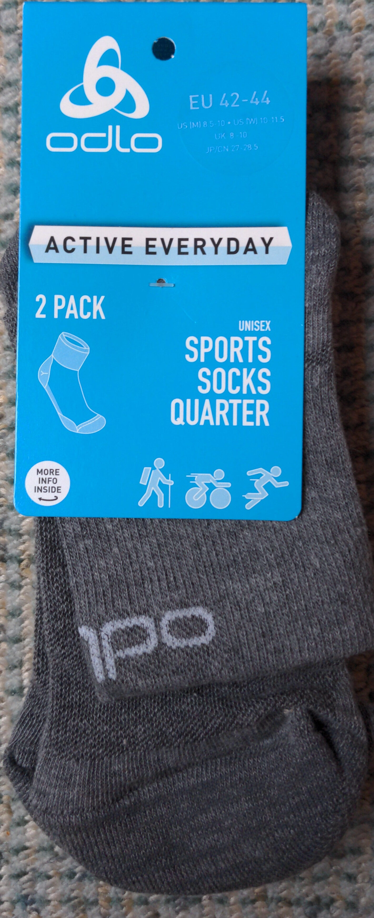 Sports socks quarter - Produit - fr