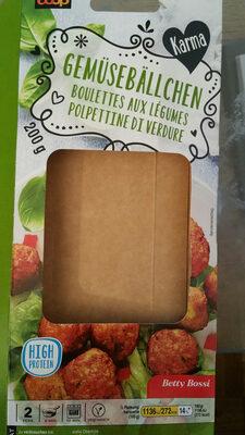 Boulettes aux légumes - Product - fr