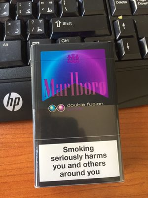 Marlboro double fusion cigarettes - Product