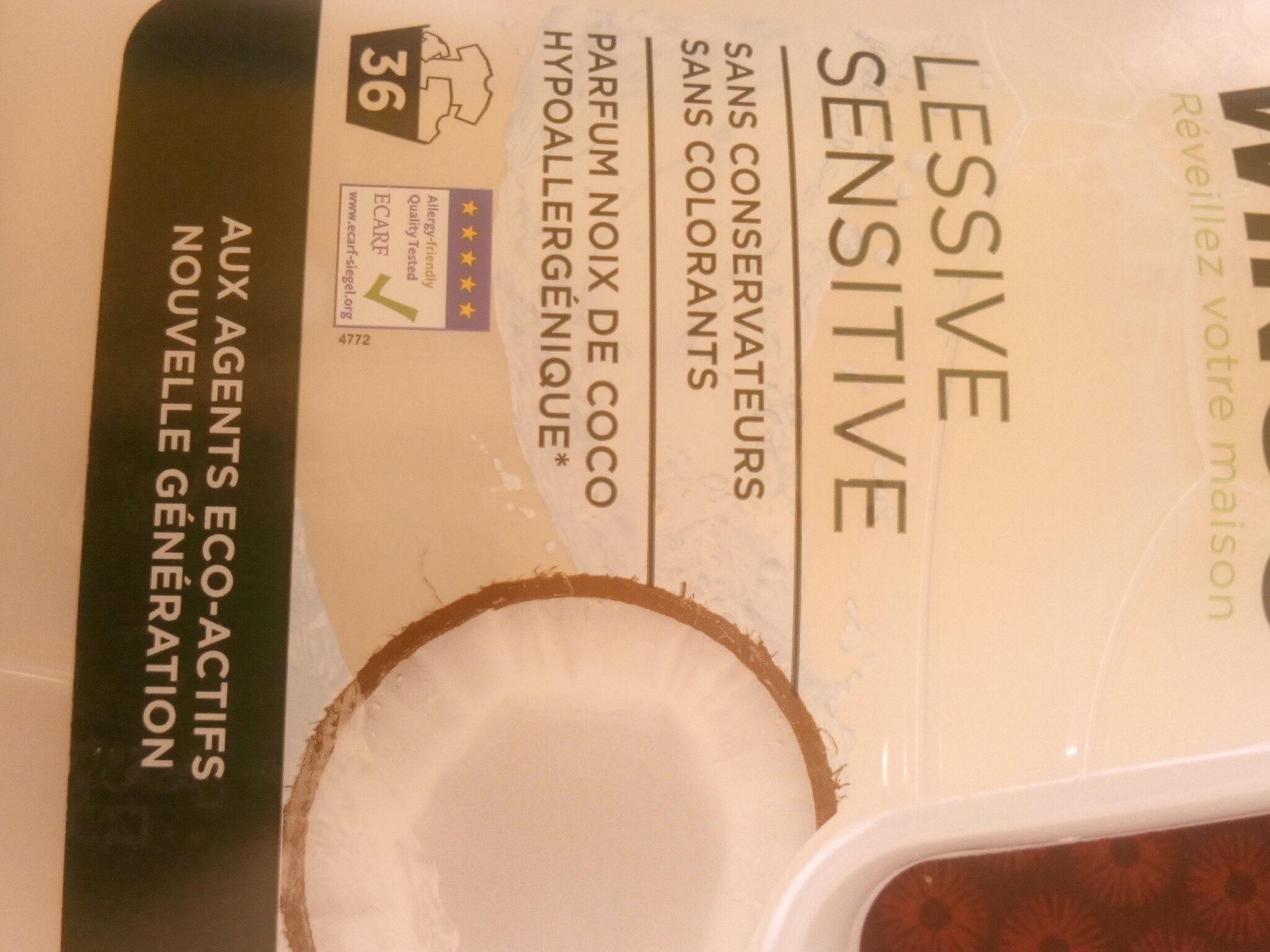 lessive sensitive - Product - fr