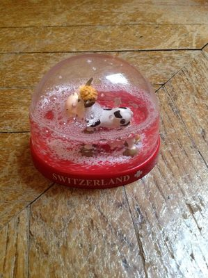 Switzerland snowglobe - Produit