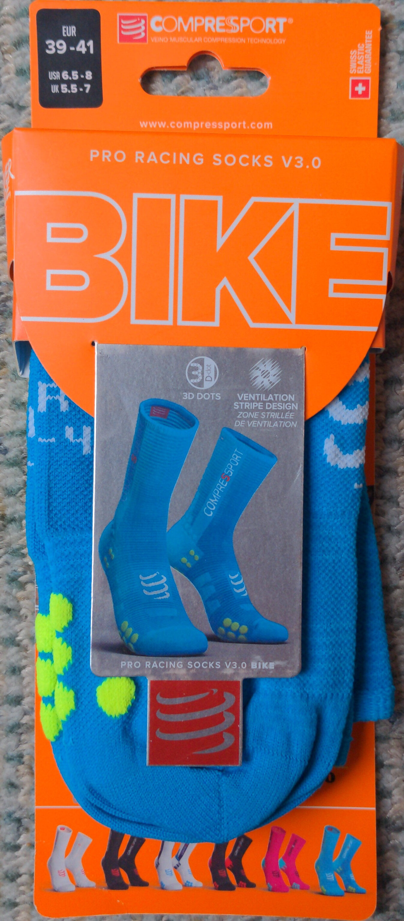 Pro racing socks 3.0 - Produit - fr