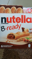 Nutella b-ready t6 etui de 6 pieces - Product - en