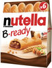 Nutella b-ready t6 etui de 6 pieces - Produit
